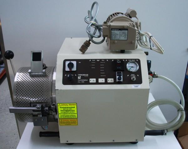 Vacuum-Druck-Gießgerät Heraeus Combilabor CL-I 95 + Vakuumpumpe # 12597