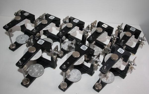 8 x LZ / BAYER / HERAEUS CONTAC Artikulatoren