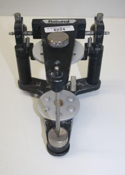 Rational Artikulator mit neuen Montageplatten # 6224