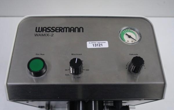 WASSERMANN Vakuumanmischgerät Typ WAMIX-2 # 13121