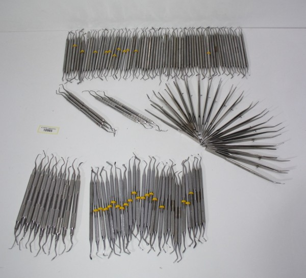 Zahnarztpraxis Restposten diverse Instrumente, Bestecke etc. # 10985