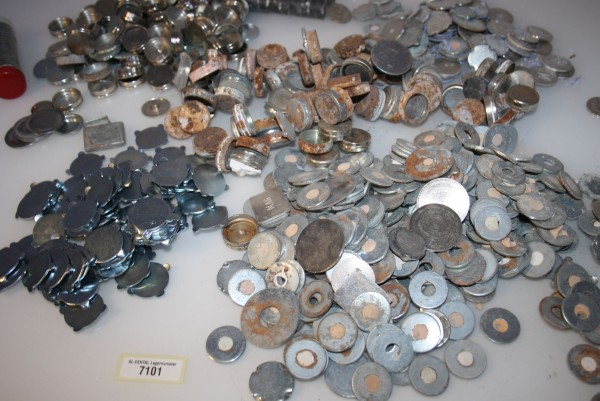 Dentallabor-Restposten Magnete, Magnetscheiben, Haftplatten etc. # 7101