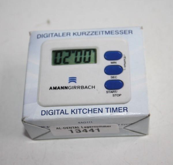 AMANN GIRRBACH digitaler Kurzzeitmesser # 13441