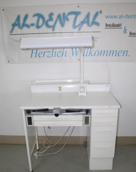 TAVOM Labor-Einzelarbeitsplatz / Goldschmiede-Arbeitsplatz # 12055