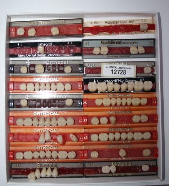 Zahngarnituren / Reparaturzähne namhafter Hersteller # 12728