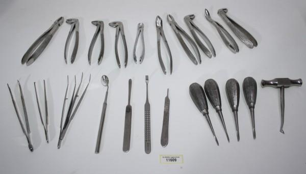 Zahnarztpraxis Restposten diverse Instrumente # 11609