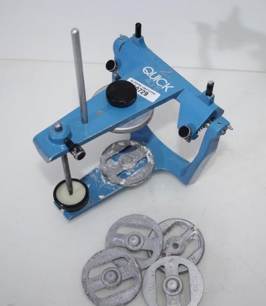 Artikulator Typ Quick 40/15 + 4 Sockelplatten # 10729