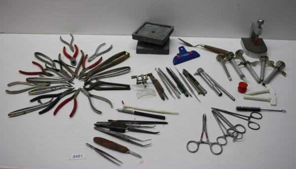 Diverse Werkzeuge für die Zahntechnik # 3461