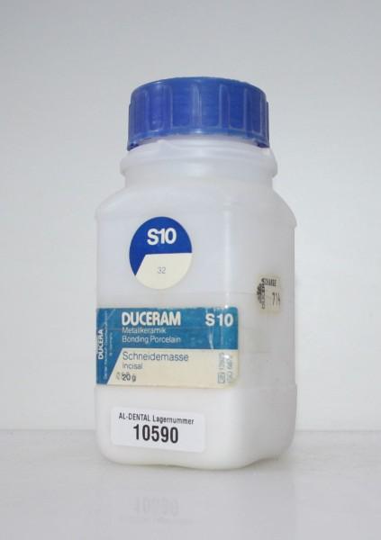 DUCERAM Metallkeramik / Schneidemasse S10 # 10590