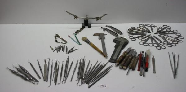 Diverse Werkzeuge für die Zahntechnik # 3459