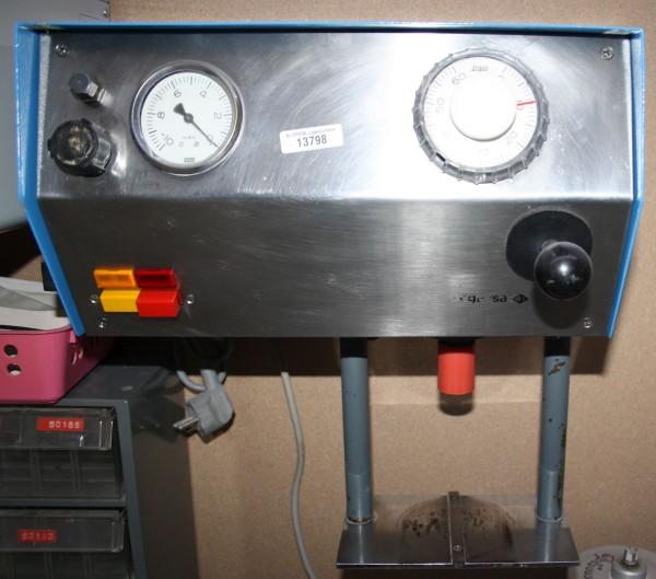 DEGUSSA Vakuumanmischgerät Typ Multivac-3 # 13798