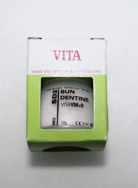 VITA VM 9 Keramikmassen / Dentalkeramik Sun Dentine SD2 # 10213