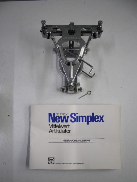 DeTrey Artikulator Typ Simplex - OVP # 7943
