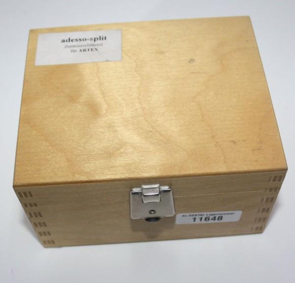 Adesso-split Zentrierschlüssel für Artex # 11648