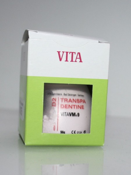 VITA VM 9 Keramikmassen / Dentalkeramik Transpa Dentine D 2 # 10175