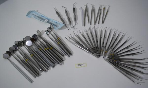 Diverse Zahnarzt-Bestecke / Handinstrumente # 11517