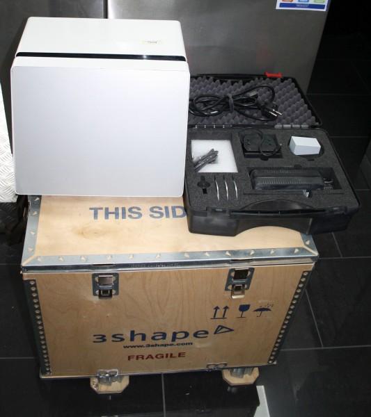 3Shape Scanner D 640 incl. Kalibrierungsset # 13729