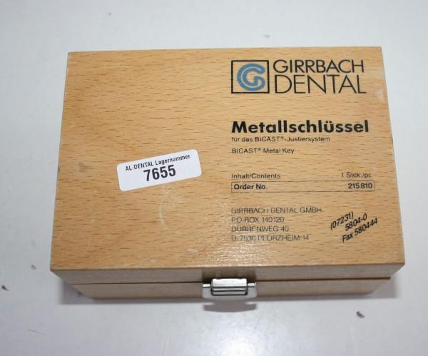 GIRRBACH-Dental BICAST-Metallschlüssel # 7655