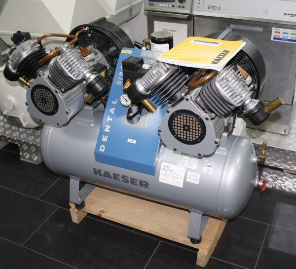 KAESER DENTAL Kolbenkompressor Baureihe DENTAL 5/2T # 14047
