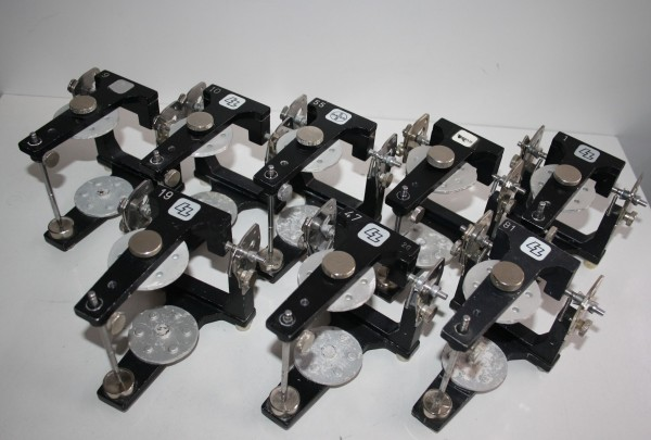 4 x LZ / BAYER / HERAEUS CONTAC Artikulatoren