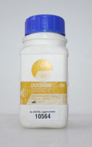 DUCERAM Metallkeramik / Grundmasse Opaker 26 # 10564
