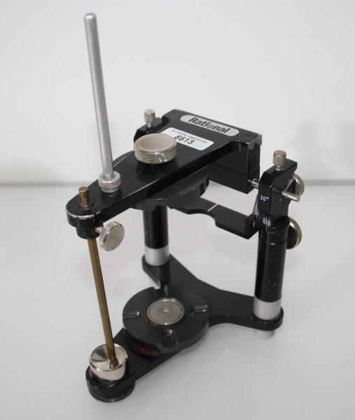 Artikulator Rational 30° mit Magnetplatten - hohe Version # 8613