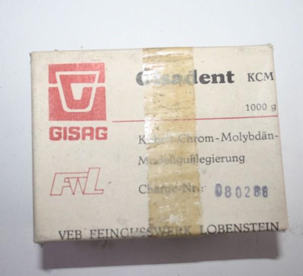 Gisadent KCM Kobalt- Chrom- Molybdän- Modellgußlegierung # 13910