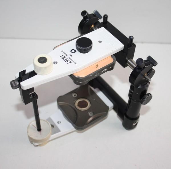 AMANN GIRRBACH Artex Artikulator Basis-Modell + Bitex-System # 13387