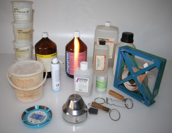 Dentallabor-Restposten Verbrauchsmaterialien # 3867