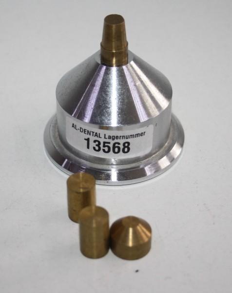DEGUSSA Fräsgerät-Zubehör - Trainingssockel für Fräsübungen # 13568