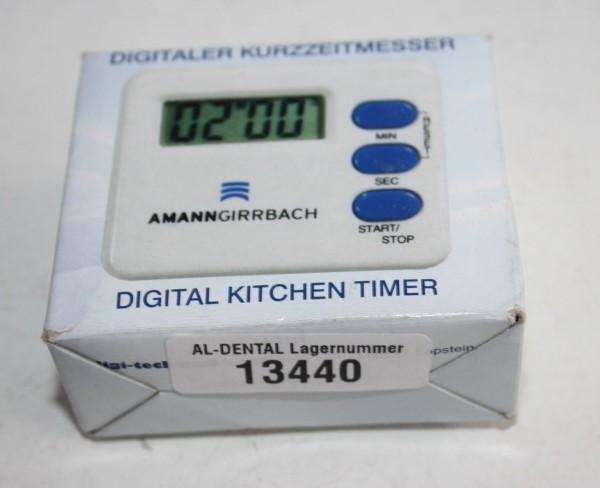 AMANN GIRRBACH digitaler Kurzzeitmesser # 13440