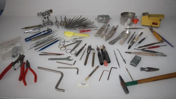 Diverse Werkzeuge + Zubehör für die Zahntechnik # 7078