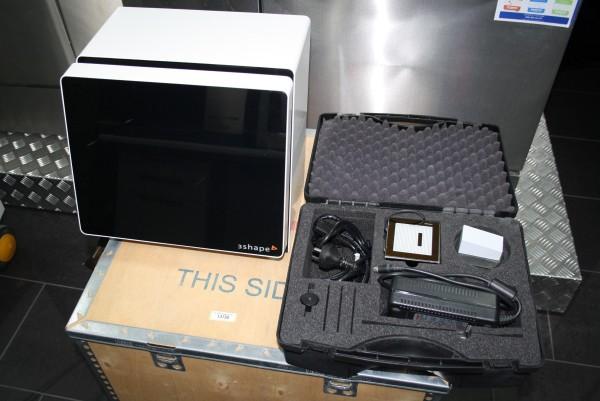 3Shape Scanner D 640 incl. Kalibrierungsset # 13730