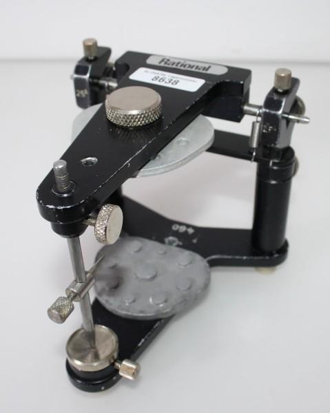 Artikulator Rational 25° + 2 Sockelplatten # 8638