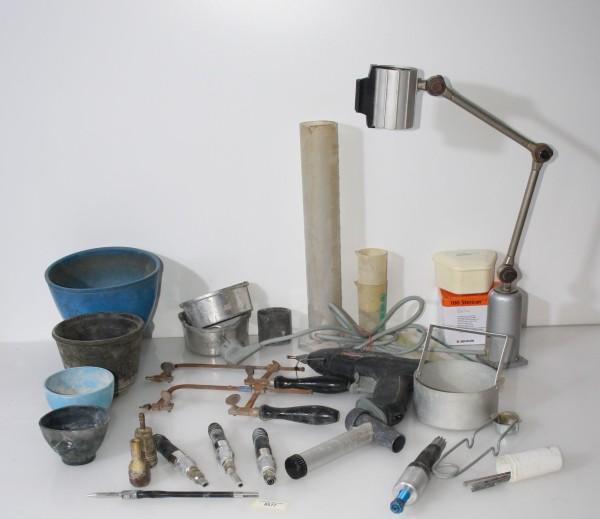 Dentallabor-Restposten - diverse Werkzeuge / Equipmentfür die Zahntechnik # 8577