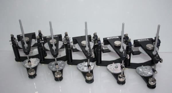 5 x Mittelwertartikulator / Artikulator Dentsply DeTrey Typ Rational