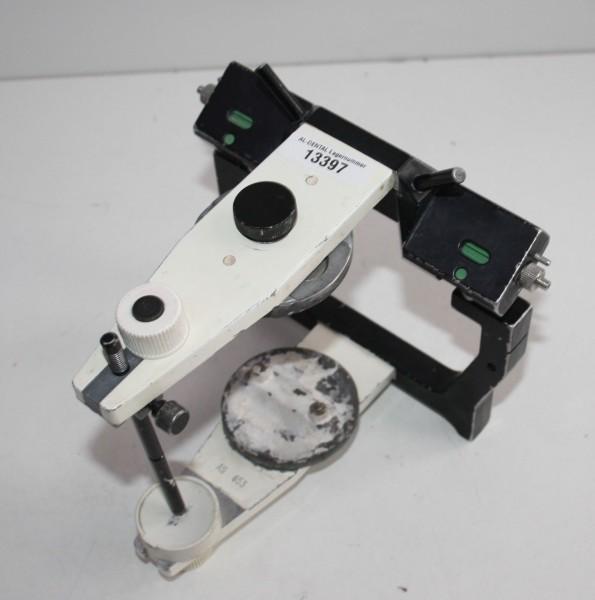 AMANN GIRRBACH Artex Arcon Artikulator Typ AS + Metall-Modellteller # 13397