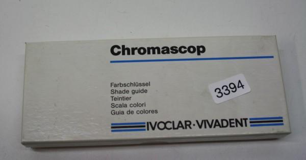 IVOCLAR VIVADENT Chromascop Farbschlüssel # 3394