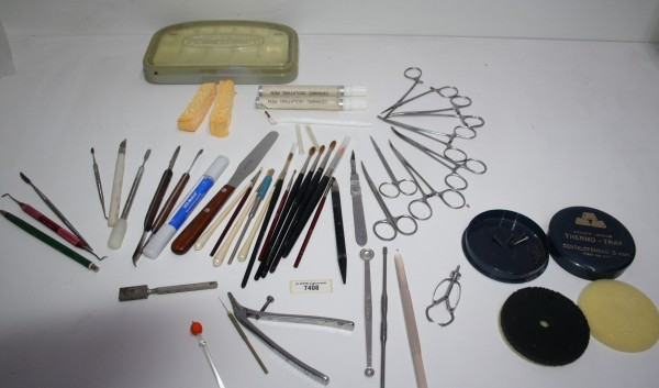 Dentallabor-Restposten Keramikequipment / diverse Werkzeuge # 7408