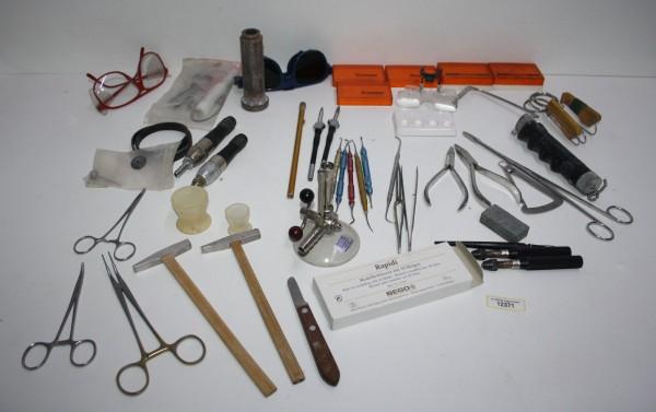 Dentallabor-Restposten diverse Werkzeuge # 12371