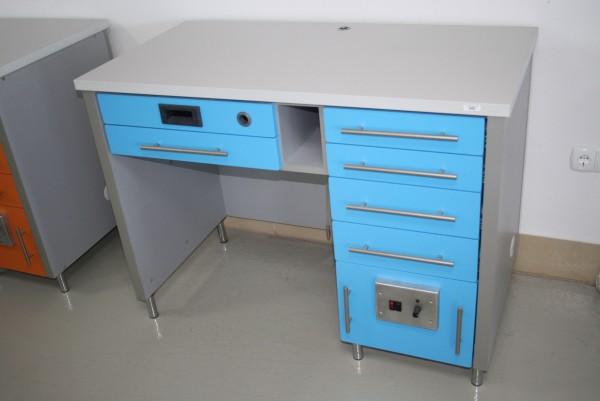 Dental-Labortisch - Einzelarbeitsplatz Techniktisch Labormöbel NEU #6906