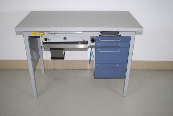 KaVo Einzel-Arbeitsplatz Labor/Praxislabor + neuer Corian-Arbeitsplatte # 6924