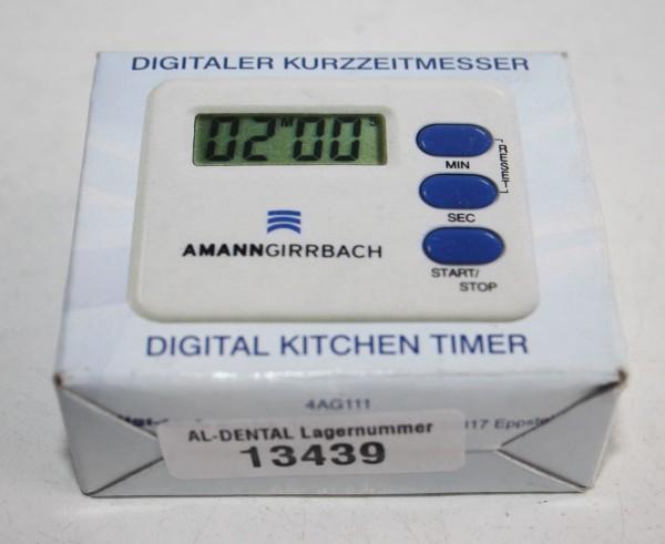 AMANN GIRRBACH digitaler Kurzzeitmesser # 13439