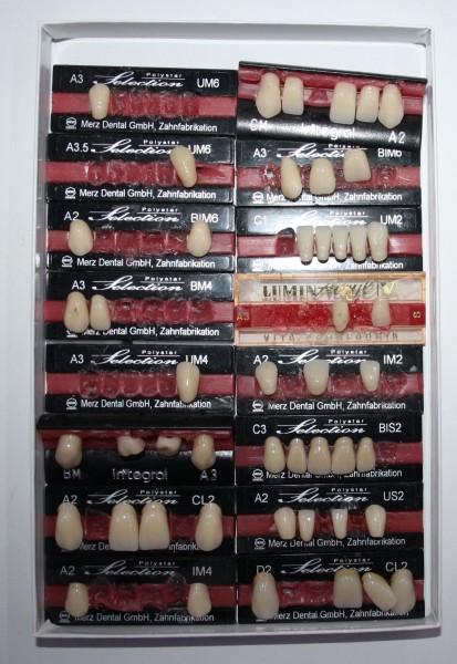 Zahngarnituren / Reparaturzähne namhafter Hersteller # 12737