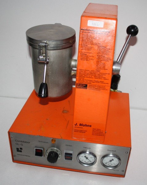 HERAEUS Gießgerät Typ CL-G orange # 13333