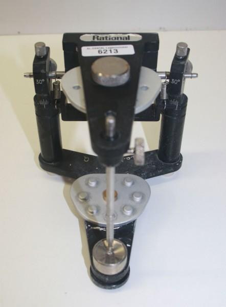 Rational Artikulator mit neuen Montageplatten # 6213