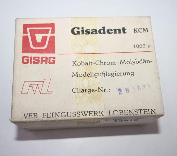 Gisadent KCM Kobalt- Chrom- Molybdän- Modellgußlegierung # 13913