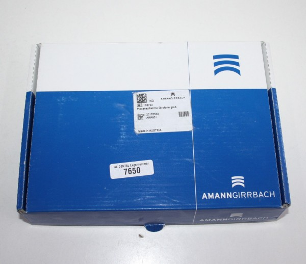 Amann Girrbach Plattenaufnahme Giroform groß # 7650