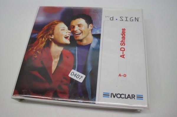 IVOCLAR IPS d.sign A-D Shades # 407