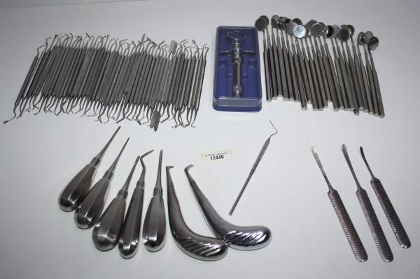 Diverse Zahnarzt Instrumente #12440